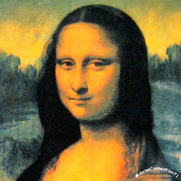 bcc69a638 MONA LISA Leonardo Da Vinci Cap Sleeve Fine Art Print T Shirt Misses S M L  XL