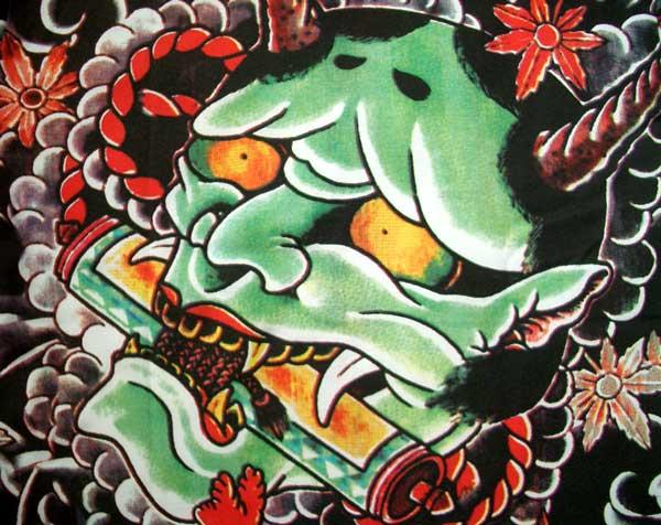 Amazing Japanese Tattoo Designs Especially Japanese Devil Mask Tattoo Picture 8
