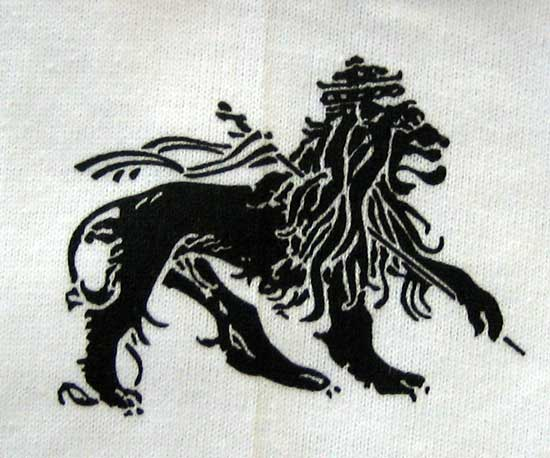 RASTA Lion of Judah FLAG Roots REGGAE Jah Rastafari Irie T ...