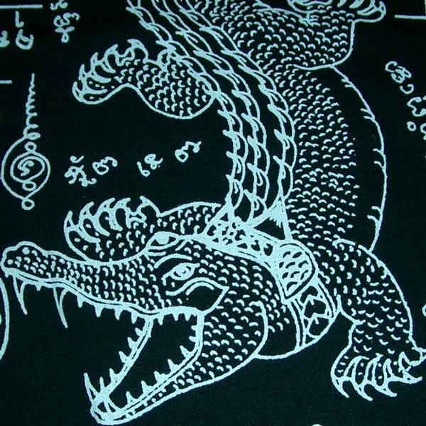 crocodile tattoo. Thai JORAKE Crocodile Tattoo